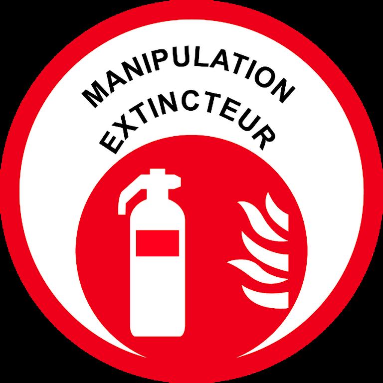 macaron manipulation extincteurs